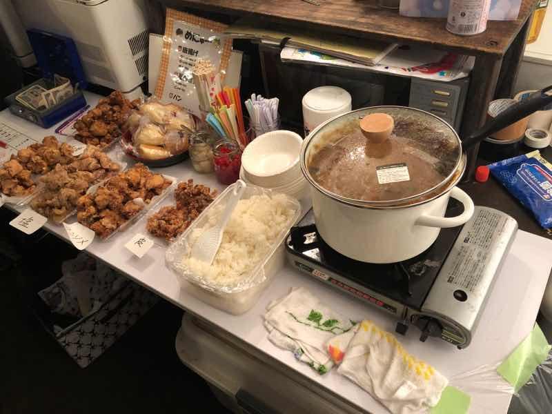 夜のお茶会 Vol.21 の手料理